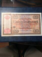 Germany 50 Reichsmark Cat No 211
