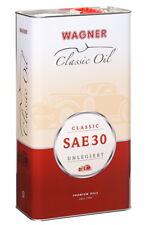 5 Liter WAGNER Classic SAE 30 unlegiert Oldtimer Motoröl Motorenöl
