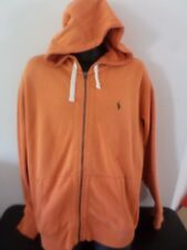 POLO - Ralph Lauren Hooded Zipped Jacket - ORANGE - Men XL