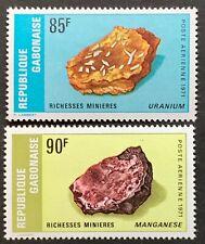 Gabon. Minerals. SG427/28. 1971. MNH. (R144)