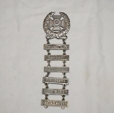 WWII US Army Expert Qual Badge With 6 Bars Some Rare M0145