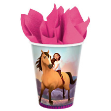 Dreamworks Spirit Riding Free Birthday Party Cups (8) Am.