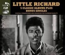 Little Richard - 5 Classic Albums Plus Bonus Singles 4 CD