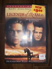 LEGENDS OF THE FALL - SPECIAL EDITION - WIDESCREEN - DVD - BRAND NEW SEALED