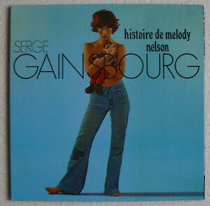 serge GAINSBOURG - histoire de melody nelson -LP 33T- 2009- 180g-US-LITA 040-