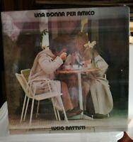 BATTISTI LUCIO - UNA DONNA PER AMICO - LP 33 GIR SIGILLATO ORIGINALE DELL'EPOCA