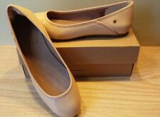 NEW $110 UGG Women's Antora Patent Ballet Flat, Nude, size 7