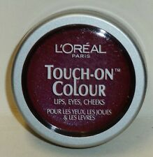 1 L'oreal Touch-On Colour Lips Eyes Cheeks FANATIC FUSCHIA Sealed