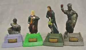 COLLECTIBLE BURGER KING 'LORD OF THE RINGS' FIGURES (2001) - SET OF 4 - SEALED.