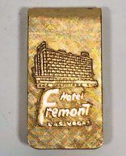VINTAGE 1950'S HOTEL FREMONT LAS VEGAS CASINO MONEY CLIP HOLDER VERY NICE