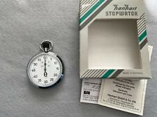 Hanhart 7 Jewels 1/5 Mechanical Vintage Wind Up Stopwatch Made in Germany