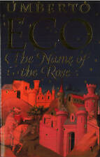 The Name Of The Rose, Umberto Eco | Paperback Book | Good | 9780749397050