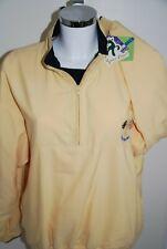 green lamb ladies golf Jacket/Pullover Half Zip Yellow Activewear BNWT