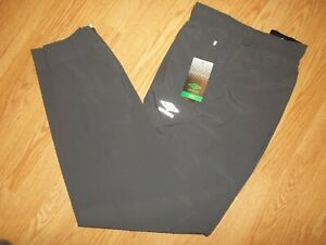 NWT MEN'S SIZE XL UMBRO Stretch Zipper Pockets Jogger Training Pants Grey