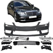 Mercedes W221 Front Stoßstange aus ABS +Tagfahrlicht + Zubehör für S65 S63 AMG
