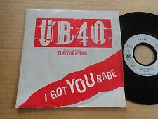 """DISQUE  45T DE UB 40  """" I GOT YOU BABE """""""