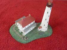 "1993 Danbury Mint Historic American Lighthouse ""Sandy Hook Lighthouse"" (Sr)"