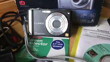 BLACK Panasonic LUMIX DMC-FS20 10.1MP Digital Camera + 4 GB Mem Card -V.G.C.