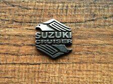 "SUZUKI CRUISER VEST PIN ~1"" x 7/8"" EAGLE LAPEL HAT BADGE ANSTECKER MOTORCYCLE"
