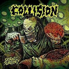Collision - Satanic Surgery ++ ORANGE LP ++ NEU !!