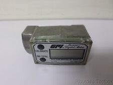 """Unused Great Plains Industries 1"""" FNPT Electronic Digital Flow Meter, 3S30GM"""
