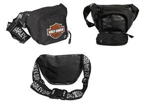 Harley-Davidson Gürteltasche Hüfttasche&Bauchtasche Modell Bar & Shield #99426MC