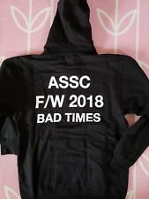AntiSocialSocialClub ASSC Bad Times Black Hoodie FW18 SOLD OUT IN HAND Medium M