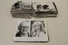 großer Posten 739 Presse-Fotos Schauspieler 70-90er Jahre Film Fernsehsendungen