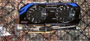 MSI GeForce GTX 660 Ti 2048 MB Grafikkarte 2GB NVidia Mining Graka Gaming Spiele