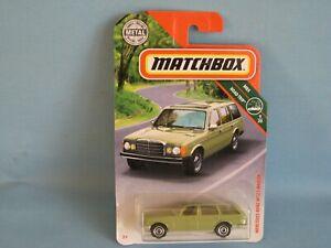 Matchbox Mercedes-Benz W123 Wagon Green Body Toy Model Car 62mm Estate
