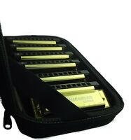 Harmonica Boxed set of 7 - Bluesman Vintage Gold Edition - ideal gift
