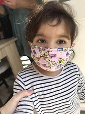 Washable 100% Cotton Kids Face Masks