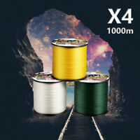 1000M Japanese Super Strong PE Braided Fishing Line Multifilament 6-100LB Braid