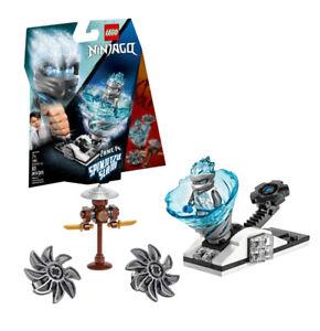 LEGO 70683 SPINJITZU SLAM ZANE-FS Ninjago Set, Ninja Spinner ICE