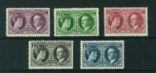 Luxembourg 1927 Philatelic Exhibition full set of stamps. Mint. Sg 261-265.