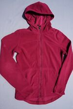 ExOfficio Woman's Hooded Fleeced Sweatshirt W/Thumbholes, Full Zip Size XS
