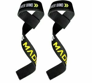 Weightlifting Wristband Support Straps 1 Pair Training Hand Bands Wrist Support