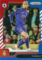 Panini Prizm Premier League Soccer 2019-20 Fabinho Red White & Blue LIVERPOOL