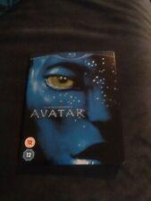 AVATAR UK REGION B STEEL BOOK BLU-RAY DVD SET