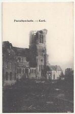 Ak Passchendaele Kerk zerstörte Kirche Belgien Zonnebeke belgium 1 Wk IWW !