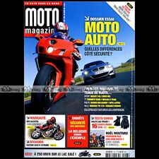 MOTO MAGAZINE N°223 SUZUKI GSXR 1000 DL 650 V-STROM YAMAHA 125 TW YZF R1 R6 2006