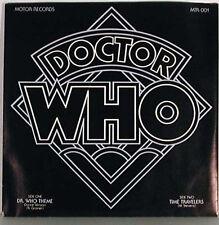 Dr Who Theme Dance Version 45 RPM Record
