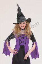 CARNEVALE Accessori CAPPELLO DA STREGA Maga Halloween 115 5372D