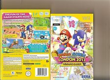 MARIO SONIC AT LONDON 2012 OLYMPIC GAMES NINTENDO WII 30 EVENTS