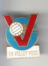 RARE PINS PIN'S .. SPORT VOLLEY BALL CLUB TEAM EVV DIEPPE 76 ~BB