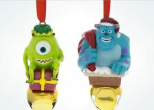 AUTHENTIC DISNEY PARKS STORE MIKE AND SULLEY MONSTERS INC CHRISTMAS ORNAMENT BN