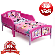 Toddler Disney Bed Frame Kid Child Bedroom Furniture Girl Pink Minnie Mouse