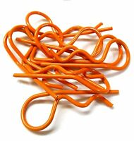 L11602L Orange Large 35mm Long Body Cover Post R Clips Pins Secure Shell 1/5 1/8