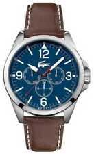Relojes de pulsera Lacoste de plata de cuero