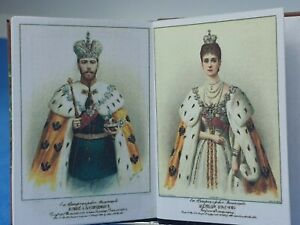 1:12 Scale Book, Russian Tsars, Victorian, Crafted by ken Blythe